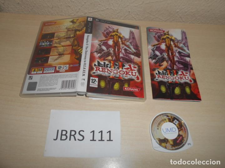PSP - RENGOKU II THE STAIRWAY TO HEAVEN , PAL ESPAÑOL , COMPLETO (Juguetes - Videojuegos y Consolas - Sony - Psp)