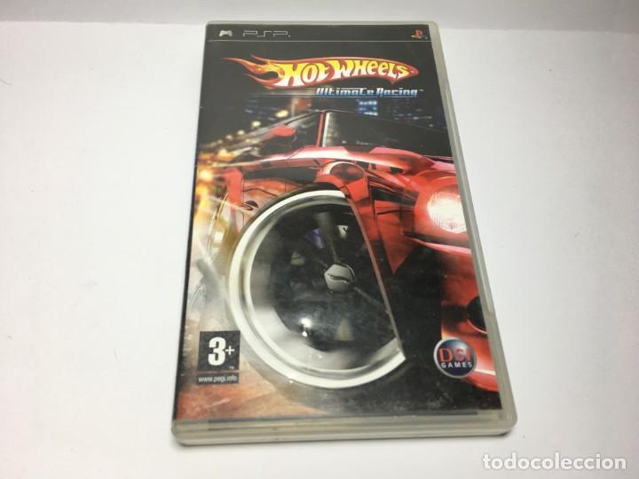 JUEGO HOT WHEELS ULTIMATE RACING DE PSP (Juguetes - Videojuegos y Consolas - Sony - Psp)