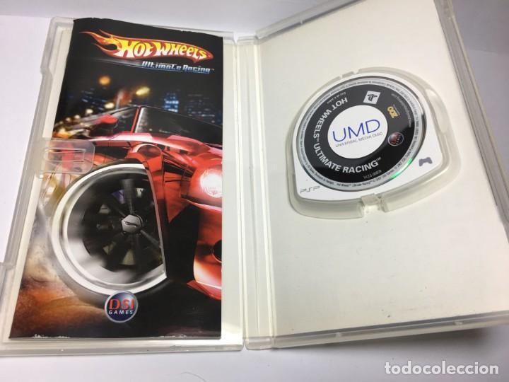 Videojuegos y Consolas: JUEGO HOT WHEELS ULTIMATE RACING DE PSP - Foto 2 - 189222822