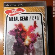 Videojuegos y Consolas: JUEGO METAL GEAR ACID PARA SONY PSP. Lote 189611487