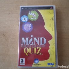 Videojuegos y Consolas: PSP M¿ND QUIZ EXERCISE YOUR BRAIN. Lote 189613021