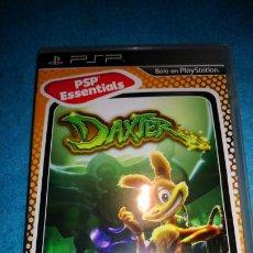 Videojuegos y Consolas: DAXTER. JUEGO PSP SONY PLAYSTATION PAL ESPAÑA COMPLETO. Lote 189628108