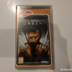Videojuegos y Consolas: X-MEN ORÍGENES LOBEZNO VIDEOJUEGO PSP ESSENTIALS GAME ACTIVISION MARVEL CON INSTRUCCIONES. Lote 190085167