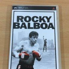 Videojuegos y Consolas: JUEGO DE BOXEO PARA PSP - ROCKY BALBOA - VERSIÓN EN CASTELLANO. SONY, 2006. Lote 190727242