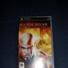 Videojuegos y Consolas: GOD OF WARS PARA SONY PSP. Lote 190815557