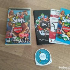 Videojuegos y Consolas: SONY PSP JUEGO LOS SIMS 2 MASCOTAS COMPLETO. Lote 191010521