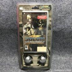 Videojuegos y Consolas: SOCOM US NAVY SEALS FIRETEAM BRAVO+AURICULARES SONY PSP. Lote 191091860