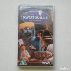 Videojuegos y Consolas: RATATOUILLE DISNEY PIXAR VIDEOJUEGO EN INGLÉS PSP THQ. Lote 191761008