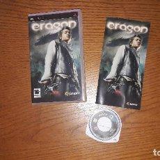 Videojuegos y Consolas: JUEGO PSP ERAGON. Lote 192336411