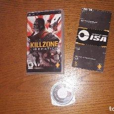 Videojuegos y Consolas: JUEGO PSP KILLZONE LIBERATION. Lote 192337327