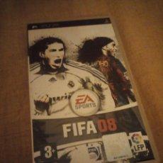 Videojuegos y Consolas: JUEGO PSP FIFA 08 - EA SPORTS. Lote 192849297