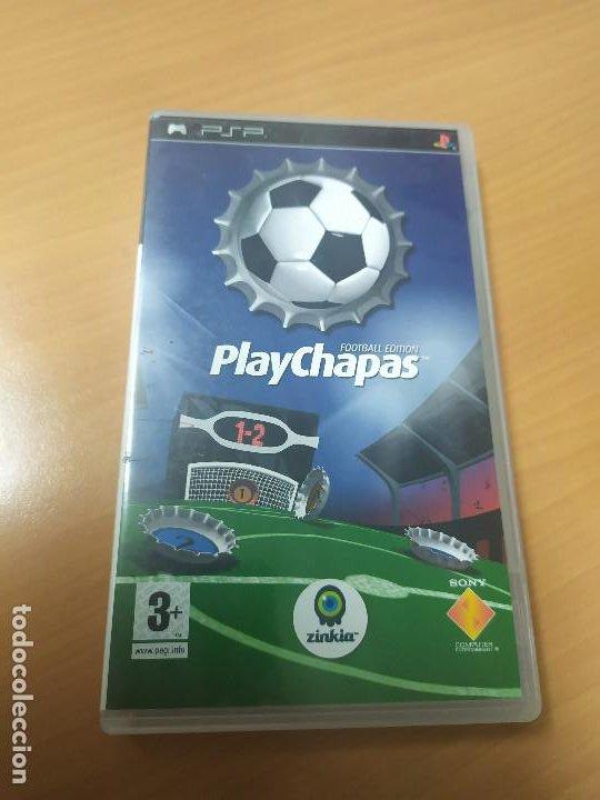 08-00343 JUEGO PSP CON CAJA -PLAY CHAPAS (Juguetes - Videojuegos y Consolas - Sony - Psp)