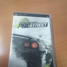 Videojuegos y Consolas: 08-00344 JUEGO PSP CON CAJA -NEED FOR SPEED PROSTREET. Lote 193437462