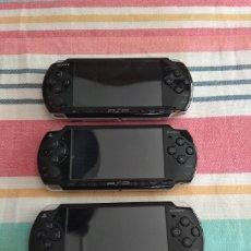 Videojuegos y Consolas: LOTE TRES PSP AVERIADAS. Lote 194180111