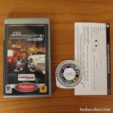 Videojuegos y Consolas: MIDNIGHT CLUB 3 DUB EDITION -JUEGO PSP- ROCKSTAR PLAYSTATION PORTABLE . Lote 194262678