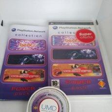 Videojuegos y Consolas: PLAYSTATION NETWORK COLLECTION POWER PACK - JUEGO PSP CON MANUAL DE INSTRUCCIONES. Lote 195009937
