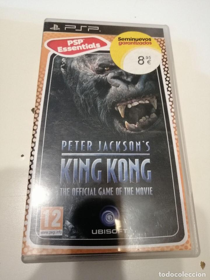 G-15 PSP SIN EL JUEGO SOLO CARATULA Y LIBRETO PETER JACKSON`S KING KONG (Juguetes - Videojuegos y Consolas - Sony - Psp)