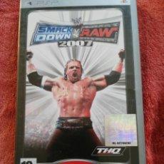Videojuegos y Consolas: SMACK DOWN VS RAW 2007. Lote 195297703