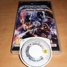 Videojuegos y Consolas: SOUL CALIBUR JUEGO SONY PSP - MYTRAN WARS-RAINBOW SIX-GHOST RECON PREDATOR (COMPRA MINIMA 15 EUR). Lote 196129857