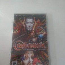 Videojuegos y Consolas: CASTLEVANIA THE DRACULA X CHRONICLES PARA PSP COMPLETO EN BUEN ESTADO ENTRE Y MIRELO. Lote 222901072