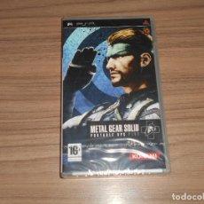 Videojuegos y Consolas: METAL GEAR SOLID PORTABLE OPS PLUS COMPLETO SONY PSP PAL ESPAÑA NUEVO PRECINTADO. Lote 197776148