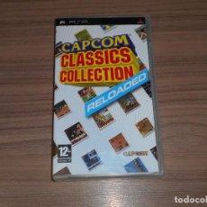 Videojuegos y Consolas: CAPCOM CCLASSICS RELOADED COMPLETO SONY PSP PAL ESPAÑA COMO NUEVO. Lote 197776401