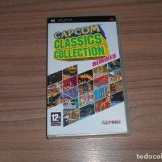 Videojuegos y Consolas: CAPCOM CLASSICS REMIXED COMPLETO SONY PSP PAL ESPAÑA COMO NUEVO. Lote 197776513