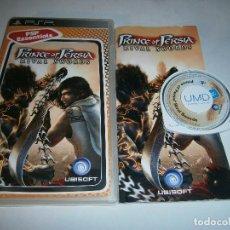 Jeux Vidéo et Consoles: PRINCE OF PERSIA RIVAL SWORDS PLAYSTATION PSP COMPLETO. Lote 197852047