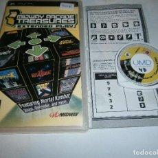Jeux Vidéo et Consoles: MIDWAY ARCADE TREASURES EXTENDED PLAYSTATION PSP PAL. Lote 197876796