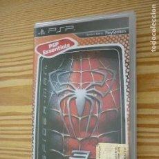 Videojuegos y Consolas: CAJA VACÍA JUEGO PSP SPIDER-MAN 3 - CON FOLLETO. Lote 197892490