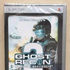 Videojogos e Consolas: JUEGO PSP GHOST RECON 2 ADVANCED WARFIGHTER TOM CLANCY'S. Lote 198464936