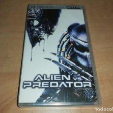 Videojuegos y Consolas: ALIEN VS PREDATOR PELICULA UMD PSP SONY-RESIDEN EVIL-TERROR-THE MUMMY-GOTHICA (COMPRA MINIMA 15 EUR). Lote 198584845