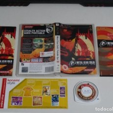Videojuegos y Consolas: PLAY STATION PSP - METAL GEAR PORTABLE OPS UK. Lote 200122946