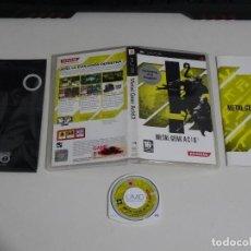 Videojuegos y Consolas: PLAY STATION PSP - METAL GEAR ACID 2 ED. ESPAÑOL AC!D CON GAFAS 3D. Lote 200123245
