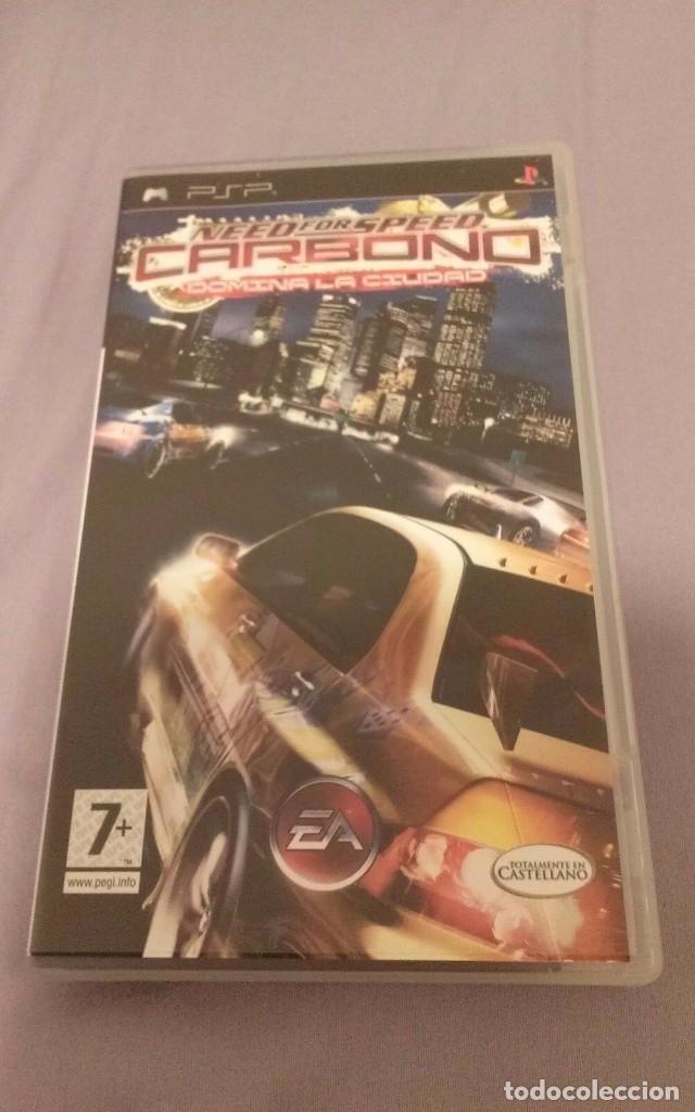 NEED FOR SPEED CARBONO . EA SPORT . PSP PORTABLE . ESPAÑA (Juguetes - Videojuegos y Consolas - Sony - Psp)