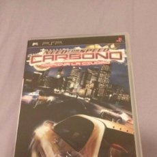 Videojuegos y Consolas: NEED FOR SPEED CARBONO . EA SPORT . PSP PORTABLE . ESPAÑA. Lote 200283018