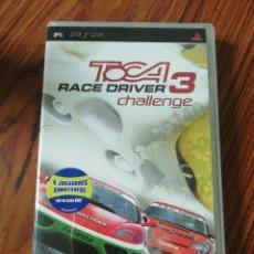 Videojuegos y Consolas: TOCA 3 RACE DRIVER CHALLENGE. ATARI. PSP PORTABLE. ESPAÑA.. Lote 200284156