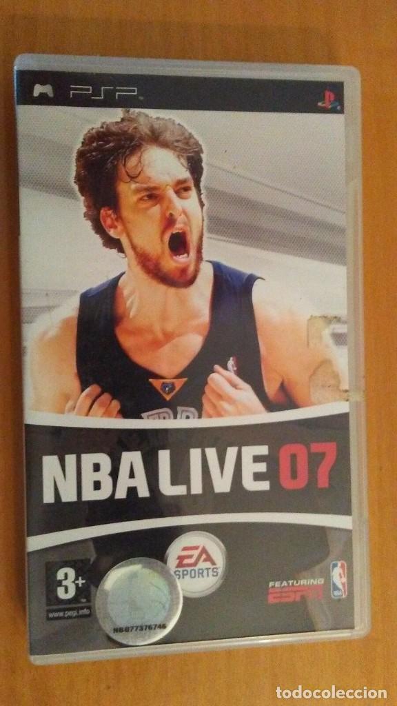 NBA LIVE 07. EA SPORTS . PSP PORTABLE . ESPAÑA (Juguetes - Videojuegos y Consolas - Sony - Psp)