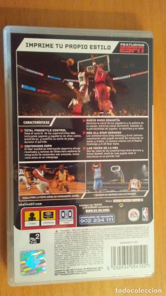 Videojuegos y Consolas: NBA Live 07. EA Sports . PSP Portable . España - Foto 3 - 200285177