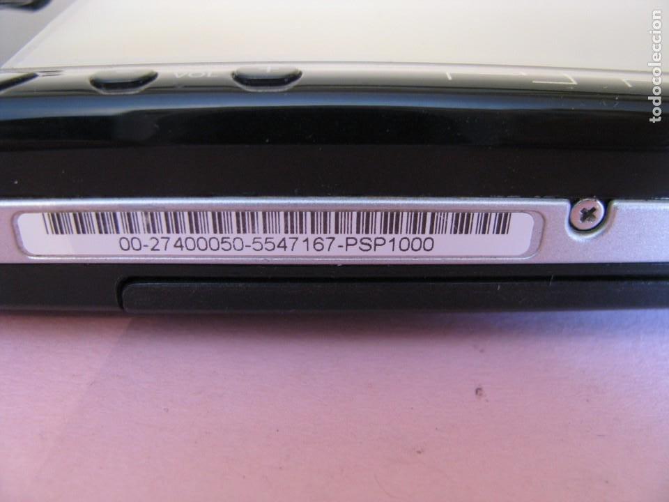 Videojuegos y Consolas: CONSOLA PSP 1000. AÑO 2004. FUNCIONA. INCLUYE CARGADOR Y FUNDA. - Foto 2 - 203459812