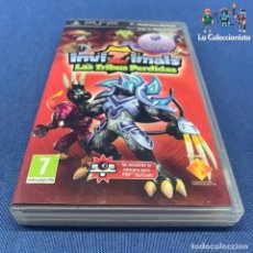 Videojuegos y Consolas: VIDEOJUEGOS - INVIZIMALS - LAS TRIBUS PERDIDAS - PSP. Lote 203974223