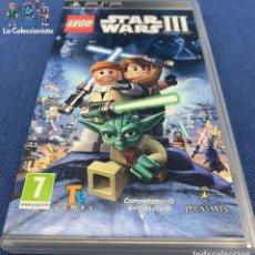 Videojuegos y Consolas: VIDEOJUEGOS - LEGO STAR WARS III - PSP. Lote 203976872