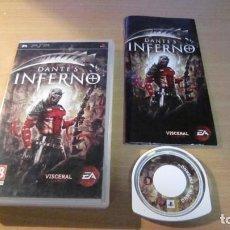Videojuegos y Consolas: JUEGO PSP DANTE´S INFERNO MUY BUEN ESTADO COMPLETO. Lote 204533698