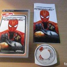 Videojuegos y Consolas: JUEGO PSP SPIDER-MAN EL REINO DE LAS SOMBRAS MUY BUEN ESTADO COMPLETO. Lote 204533897