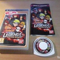 Videojuegos y Consolas: JUEGO PSP NARUTO SHIPPUDEN LEGENDS MUY BUEN ESTADO COMPLETO. Lote 204534282
