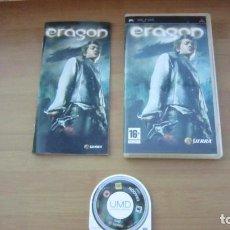 Videojuegos y Consolas: JUEGO PSP ERAGON MUY BUEN ESTADO COMPLETO. Lote 204640332