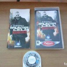Videojuegos y Consolas: JUEGO PSP SPLITER CELL COMPLETO. Lote 204641302