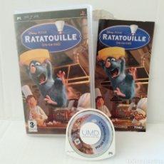 Videojuegos y Consolas: JUEGO PSP - RATATOUILLE - RATATUI. Lote 205824457