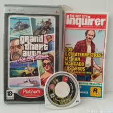 Videojuegos y Consolas: JUEGO PSP - GRAND THEFT AUTO, VICE CITY STORIES. Lote 205825283