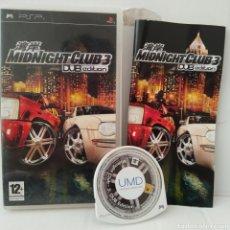 Videojuegos y Consolas: JUEGO PSP - MIDNIGHT CLUB 3 DUB EDITION. Lote 205826487